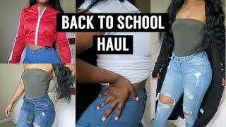 BACK TO SCHOOL FASHION NOVA TRY ON HAUL!!!