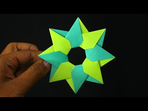 How To Make a Paper Star || DIY Origami Star