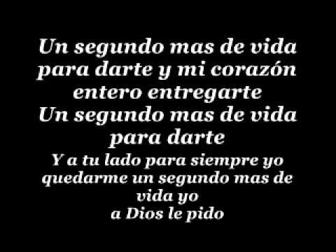 A Dios Le Pido (English Translation) - YouTube