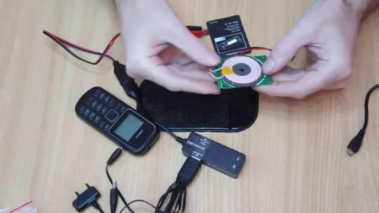Как сделать беспроводную зарядку на телефон 885