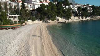 Brela beaches: Soline Makarska Riviera plaza FULL HD 2011