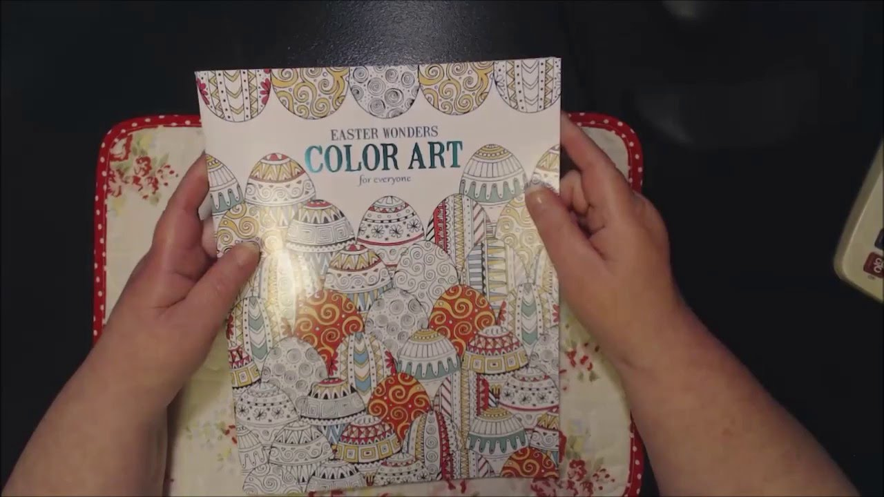 Easter Wonders Color Art Coloring Book