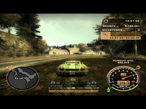 Need For Speed: Most Wanted (2005) - Challenge Series #68 - Pursuit Length