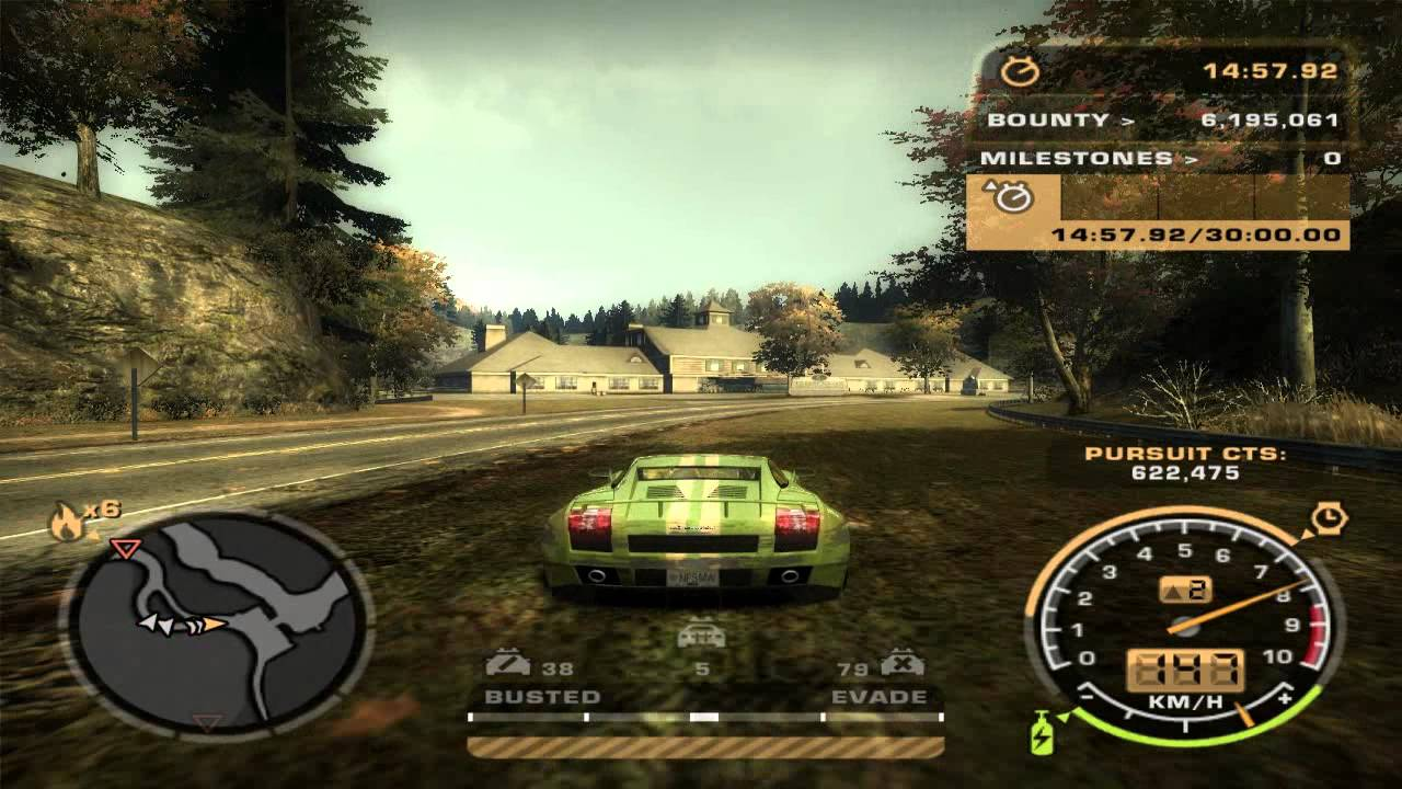 Need For Speed Most Wanted 2005 Challenge Series 68