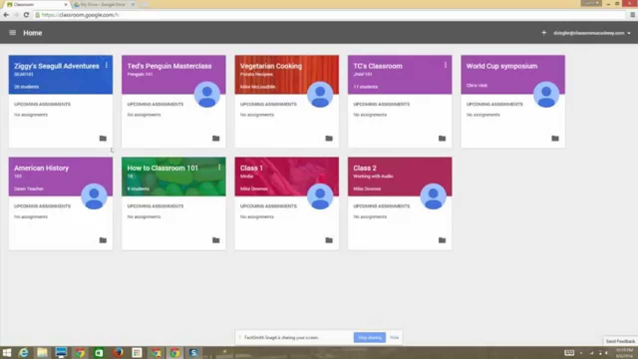 Google Classroom - A Brief Demo - YouTube