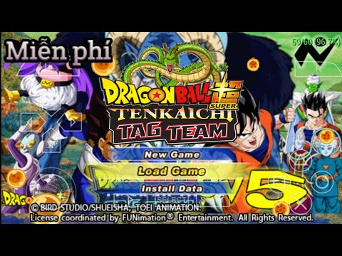 Cách tải game Dragon Balll Z Tenkaichi 3 Tag Team Mod Super V.18