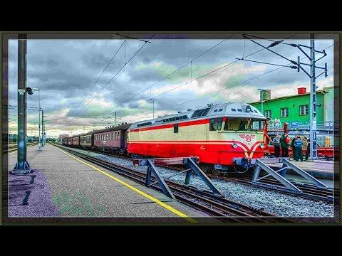 Turku-Uusikaupunki2015 Historical train Dr13 diesel locomotive