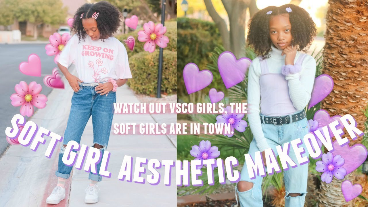 I TRIED 4 DIFFERENT SOFT GIRL AESTHETIC OUTFITS