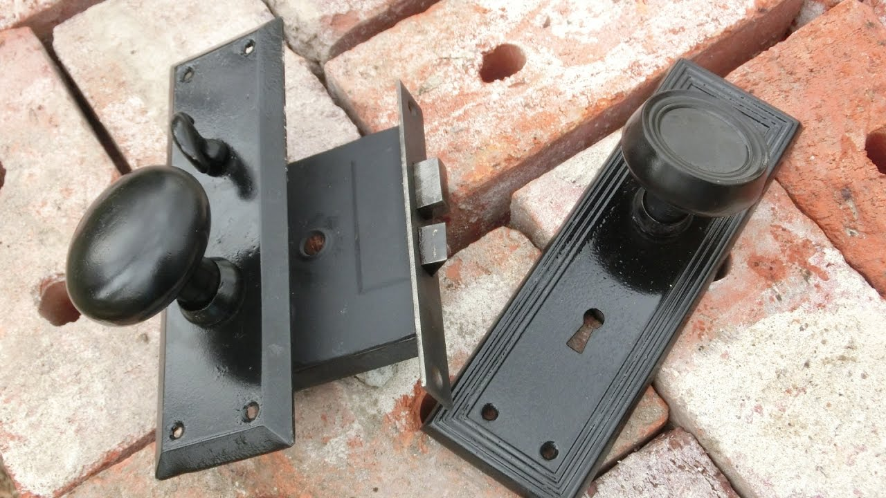 Restoring Antique Doorknobs and Mortise Lock Mechanism