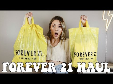 FOREVER 21 HAUL + TRY ON || Noel Labb