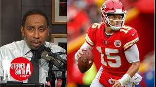 Stephen A.: Patrick Mahomes is 'league leader for MVP' | Stephen A. Smith Show