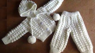 Белый костюмчик для новорожденного - как распределить узор по полотну?