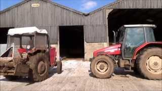 Massey Ferguson 135 tractor tour