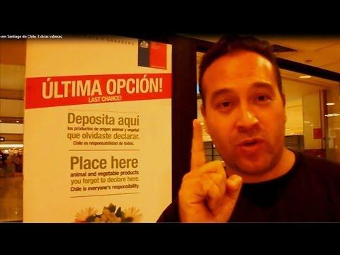 Chegando em Santiago do Chile, 3 dicas valiosas