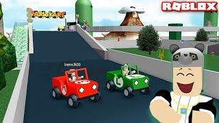 Mario Kart Pistinde Yarışıyoruz! Panda ile Roblox Nintendo Land Ultimate Theme Park!!