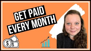 Monthly Dividend Stocks Portfolio | Monthly Dividend Tracker | Passive Income UK