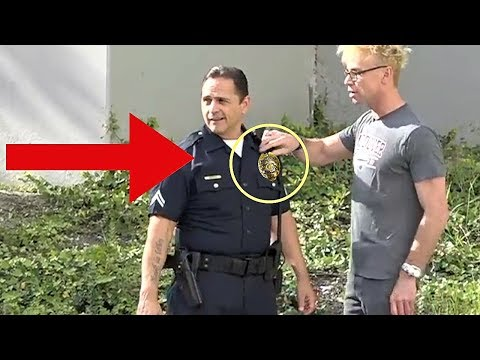 BEST Stealing From a Cop Pranks (NEVER DO THIS!!!) - POLICE SECURITY MAGIC COMPILATION 2018
