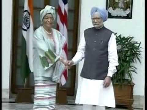 India-Liberia sign 4 MoU