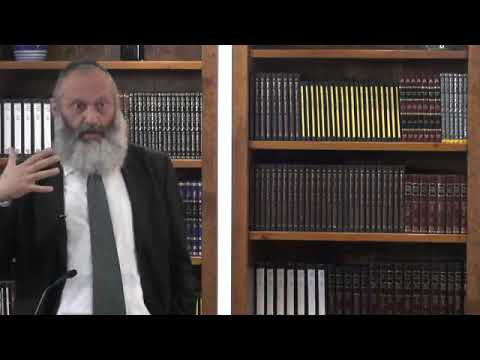 הרב ראובן פיירמן - אות לעולם - קשב להוויה - שיעור 9
