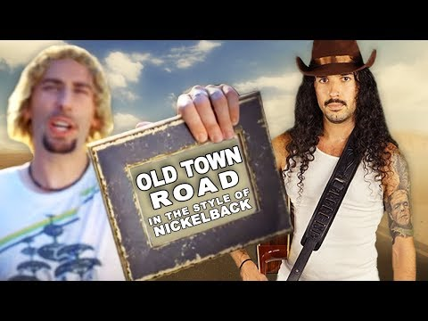 BEARDO - 'Old Town Road' in the style of Nickelback