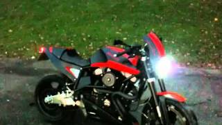 buell x1 pro series exhaust