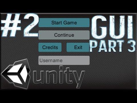 Unity Tutorials #2 - Menu Scene Pt. 3 [GUI]- Input Fields!
