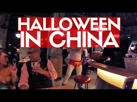 HALLOWEEN IN CHINA | Beijing Daily Vlogs