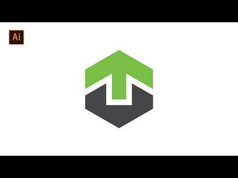 Cara Desain Logo Minimalis Dengan Huruf | Adobe Illustrator Tutorials.