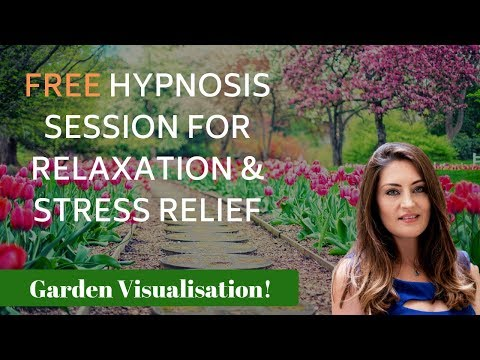 FREE Hypnosis for Relaxation and Stress Relief (Garden Visualisation)