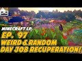 Let's Play Minecraft Episode 97: Weird & Random Day Job Recuperation! (Vanilla Amplified Survival)