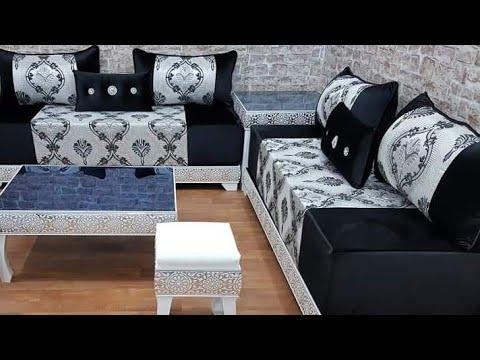 آخر صيحات صالونات مغربية راقية 💖 Salon marocaine 2019 - YouTube