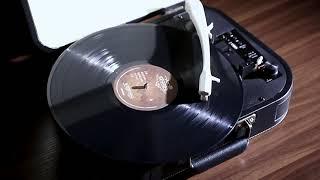 빈티지 LP 턴테이블 갬성캠핑소품 유럽식 모던 축음기