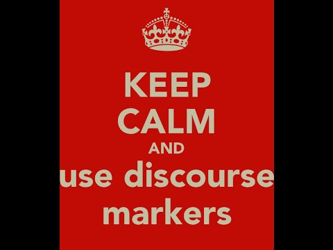 Modern Discourse Markers - Learn English online free video lessons