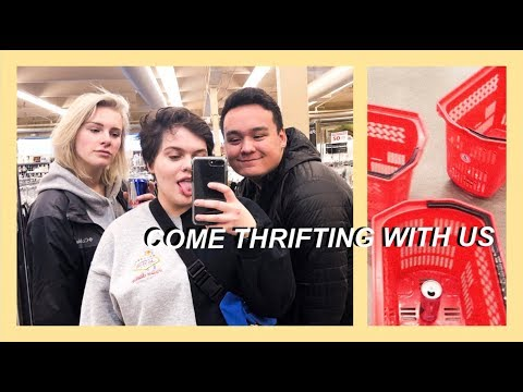 COME THRIFTING WITH US (ft. nicole & trevor)
