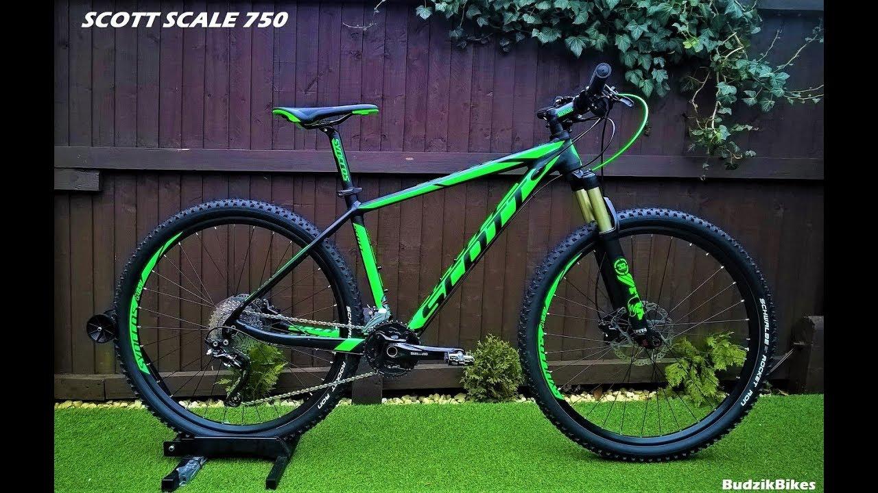 f5aa9935d86 SCOTT SCALE 750 Mountain Bike......FOX forks - YouTube
