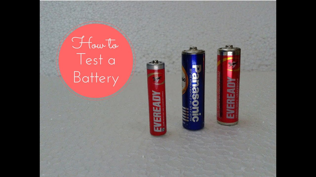 how to test check a 1 5v battery aaa aa using digital multimeter youtube. Black Bedroom Furniture Sets. Home Design Ideas