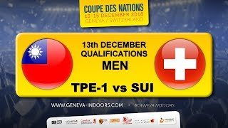 TGI2018 / Nations Qualifications Men : Taiwan 1 - Switzerland