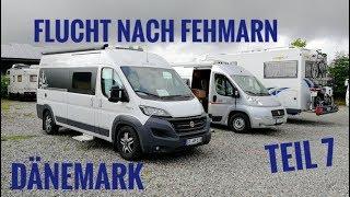 Flucht vor den Mücken von Nakskov nach Fehmarn   Süd-Dänemark Teil 7