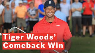 Tiger Woods Wins Tour Championship For First PGA Victory Since 2013