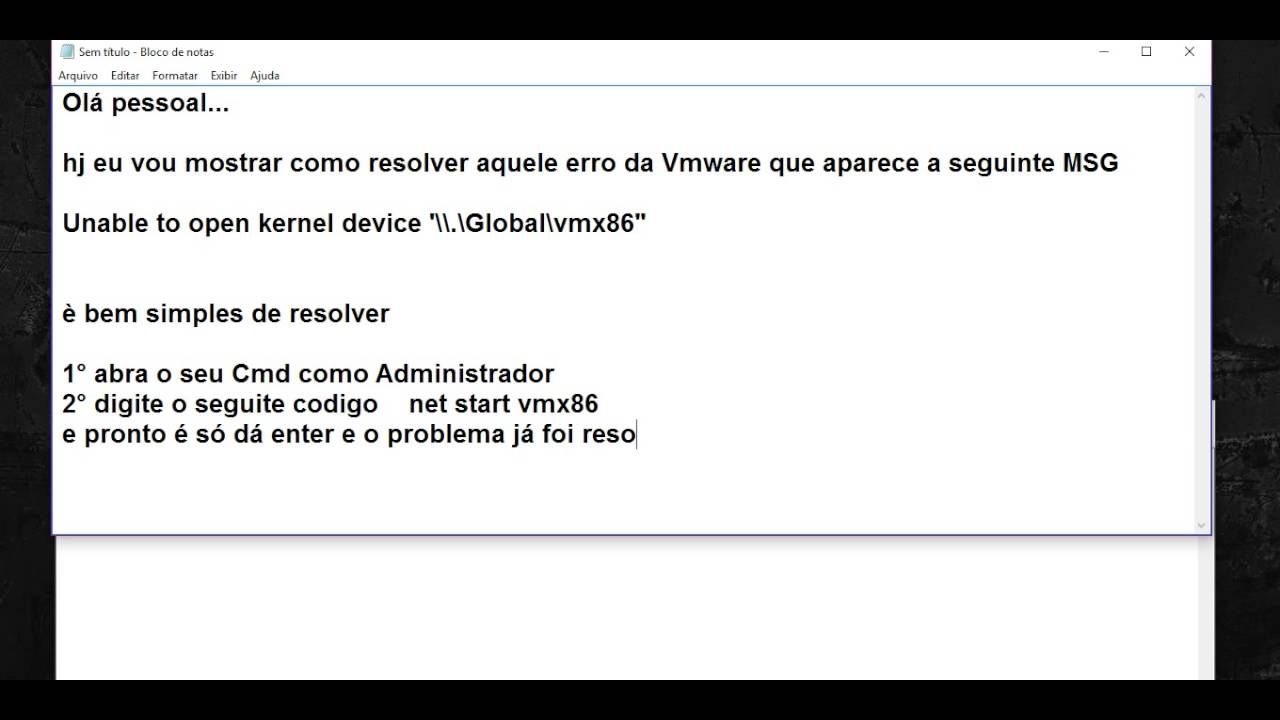VMX86 DRIVERS FOR WINDOWS 10