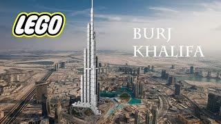 LEGO 21008 Burj Khalifa - Construcción rápida