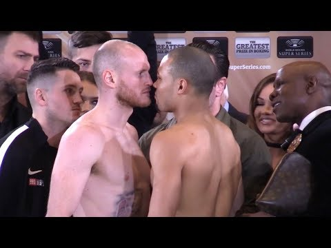 Chris Eubank Jr & George Groves Weigh-In Before World Boxing Series Semi Final