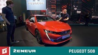 Peugeot 508 + Peugeot Rifter - GARÁŽ.TV - Ženeva 2018