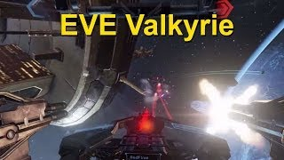 EVE: Valkyrie СТРИМ геймплей трейлера на выставке E3 2014