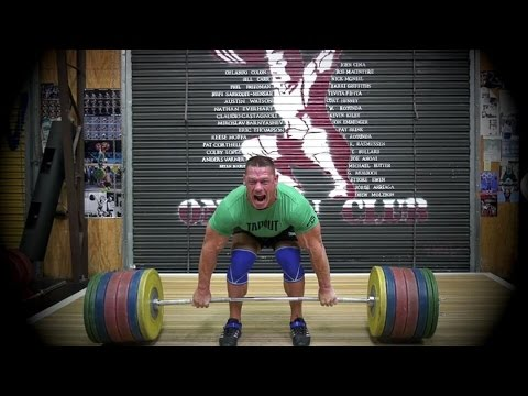 John Cena Weightlifting Gym Workout 2017 | WrestleMania 33