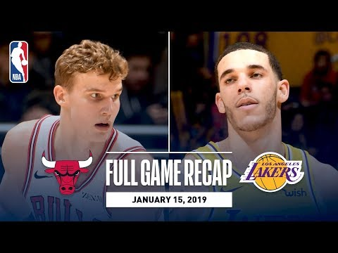 Full Game Recap: Bulls vs Lakers | Lonzo Leads Los Angeles