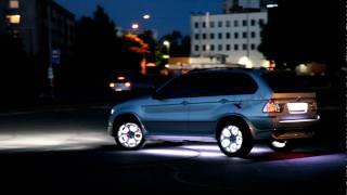 ��������� ������, ���� LED. BMW X5  LED tuning. BIXENON.LV