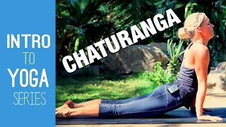Chaturanga Yoga Tutorial - Intro to Yoga Series - Five Parks Yoga