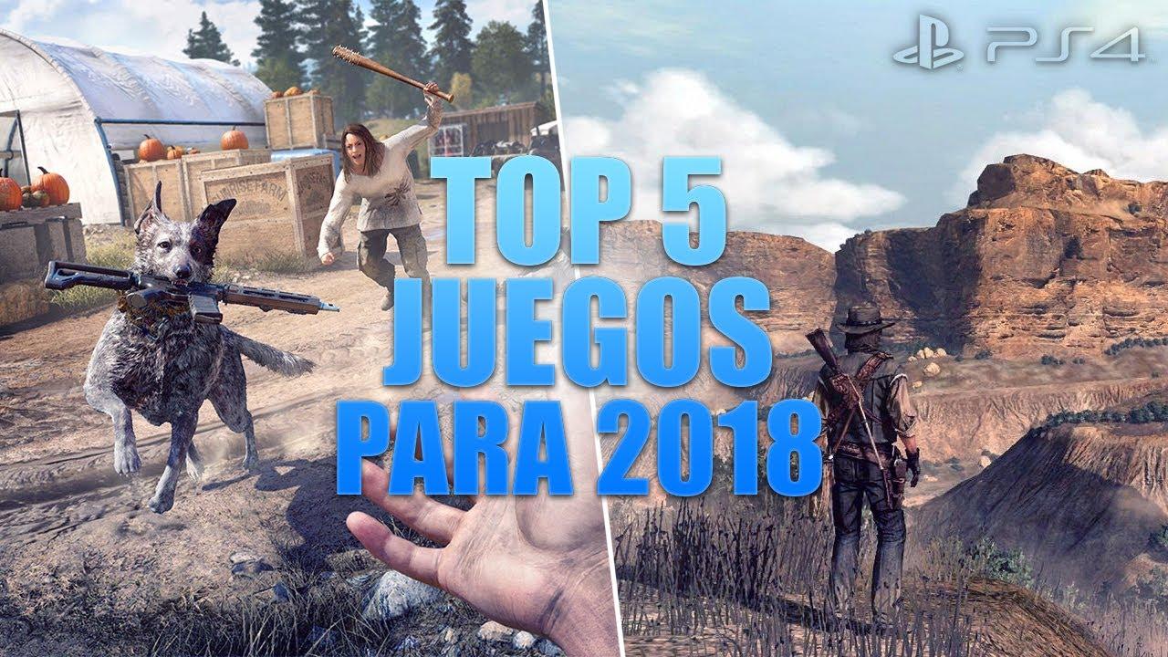 Top 5 Mejores Juegos Para Ps4 En 2018 Youtube