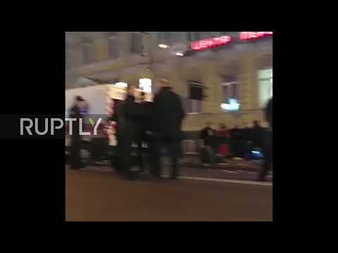 Ukraine: Five dead as SUV flips out of control in Kharkov city centre